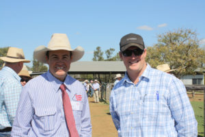 Justin Boshammer and Guy Campbell, Condamine.